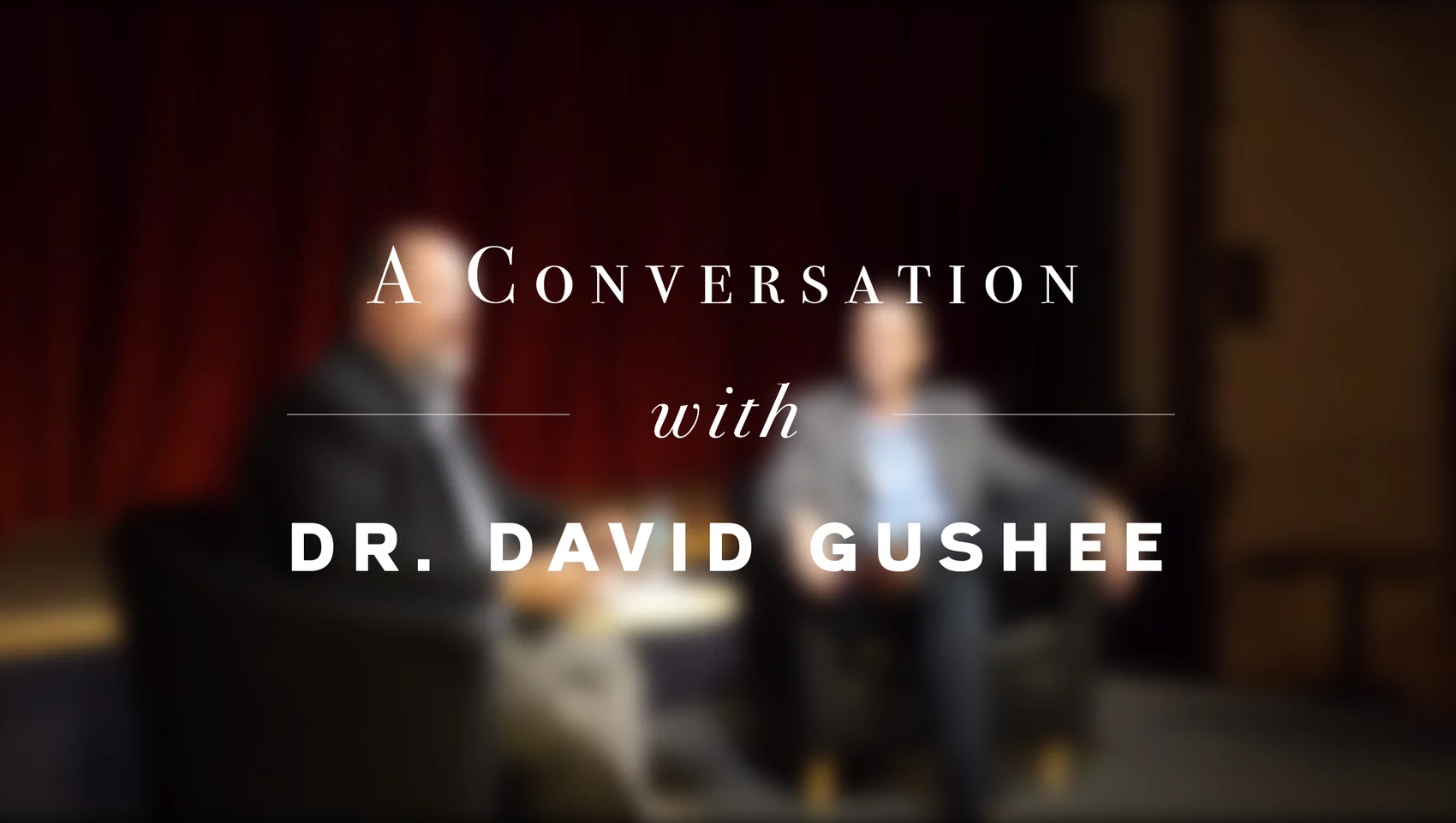 A Conversation with David Gushee