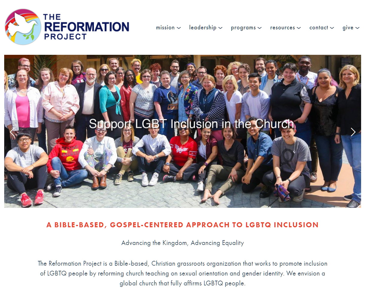 The Reformation Project