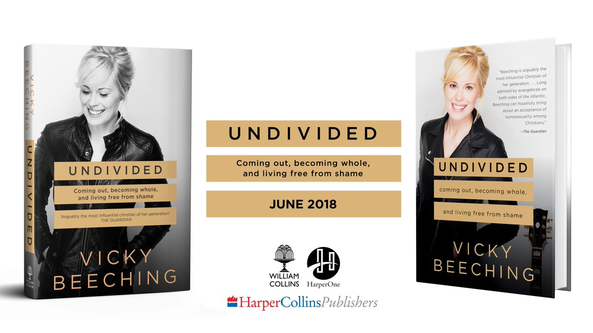 Undivided – Coming Out, Becoming Whole, and Living Free from Shame av Vicky Beeching